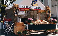 Kettle Korn booth